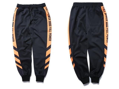 Jogging POWER - Orange / M - Boutique en ligne Streetwear