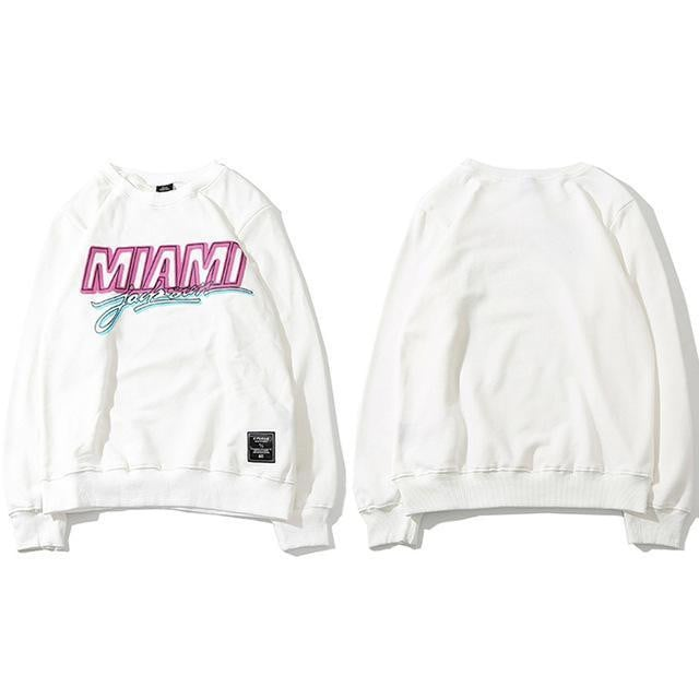 Sweat Hoodie MIAMI - Boutique en ligne Streetwear
