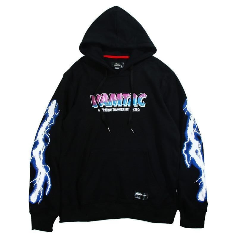 Sweat Hoodie THUNDER - Boutique en ligne Streetwear