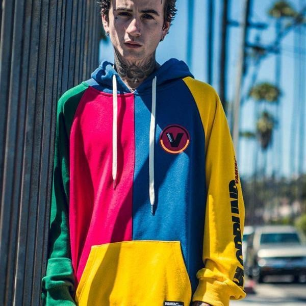 Sweat Hoodie COLOR BLOCK - Boutique en ligne Streetwear