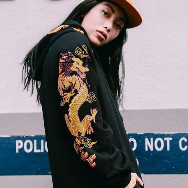 Sweat Hoodie DRAGON - Boutique en ligne Streetwear