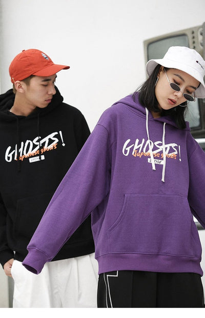 Sweat Hoodie GHOSTS - Boutique en ligne Streetwear