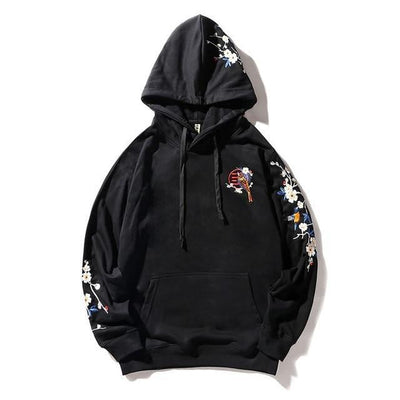 Sweat Hoodie PIKO - Black / M - Boutique en ligne Streetwear