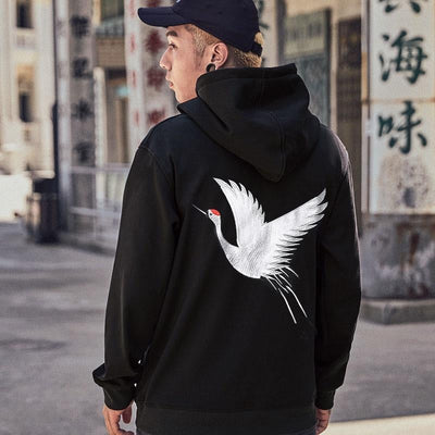 Sweat Hoodie BIRD - Boutique en ligne Streetwear
