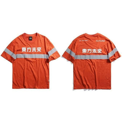 T-shirt FLASH - Orange / M - Boutique en ligne Streetwear