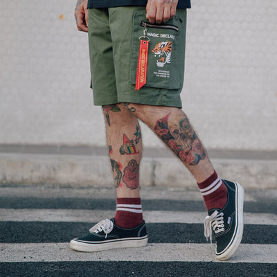 Short TIGER - Boutique en ligne Streetwear