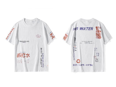 T-shirt imprimé GOOD WATER - Boutique en ligne Streetwear