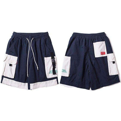 SHORT BROOKLYN - BLEU / M - Boutique en ligne Streetwear