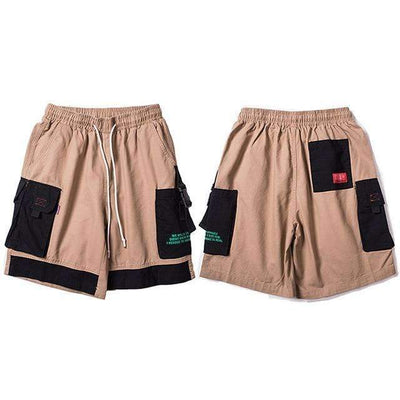 SHORT BROOKLYN - KHAKI / M - Boutique en ligne Streetwear