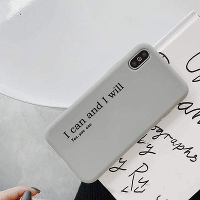 Coque Yes you can - iPhone 6S Plus - Boutique en ligne Streetwear