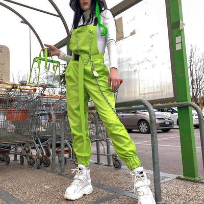 Ensemble LEMON BOLT - VERT / S - Boutique en ligne Streetwear