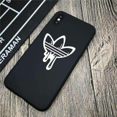 Coque Dripping - iphone X / NOIR - Boutique en ligne Streetwear