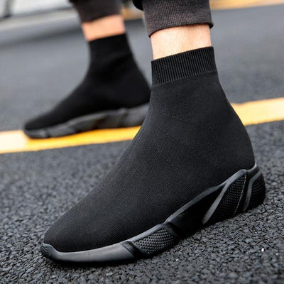 Sneakers FTX SOCKS CLASSY™ - All Noir / 35 - Boutique en ligne Streetwear