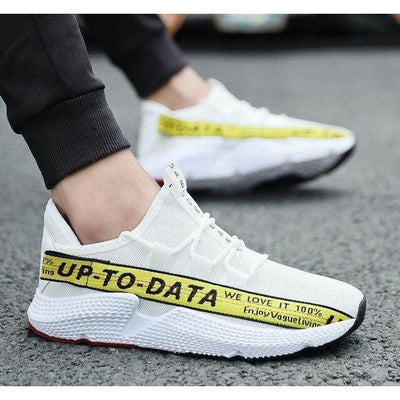 Sneakers FTX UP TO DATA™ - Jaune / 39 - Boutique en ligne Streetwear