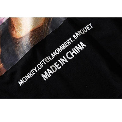 "T-Shirt ""MONA LISA"" x MADE IN CHINA™ - Boutique en ligne Streetwear"