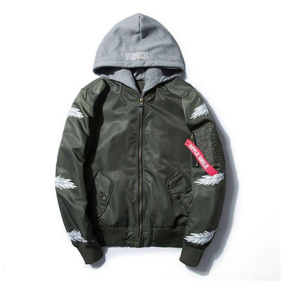 Veste à capuche FEATHER - Boutique en ligne Streetwear
