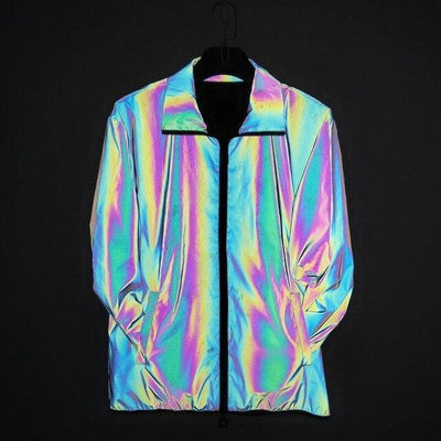 Veste LASER (Multicolore Arc-en-ciel) 3M™ - reflective / L / China - Boutique en ligne Streetwear