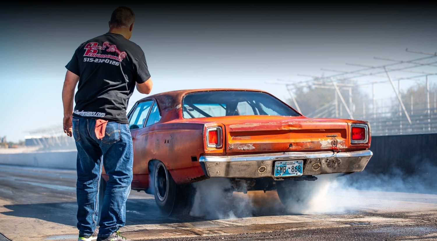TETANUS: Ralph Bell's KB® Hemi Powered Roadrunner