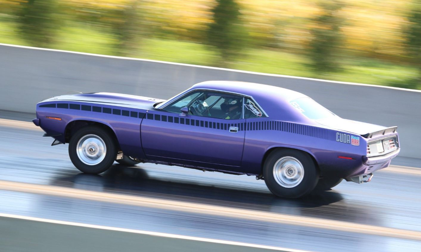 Randy Heinselman's Keith Black® HEMI® Powered '70 Barracuda