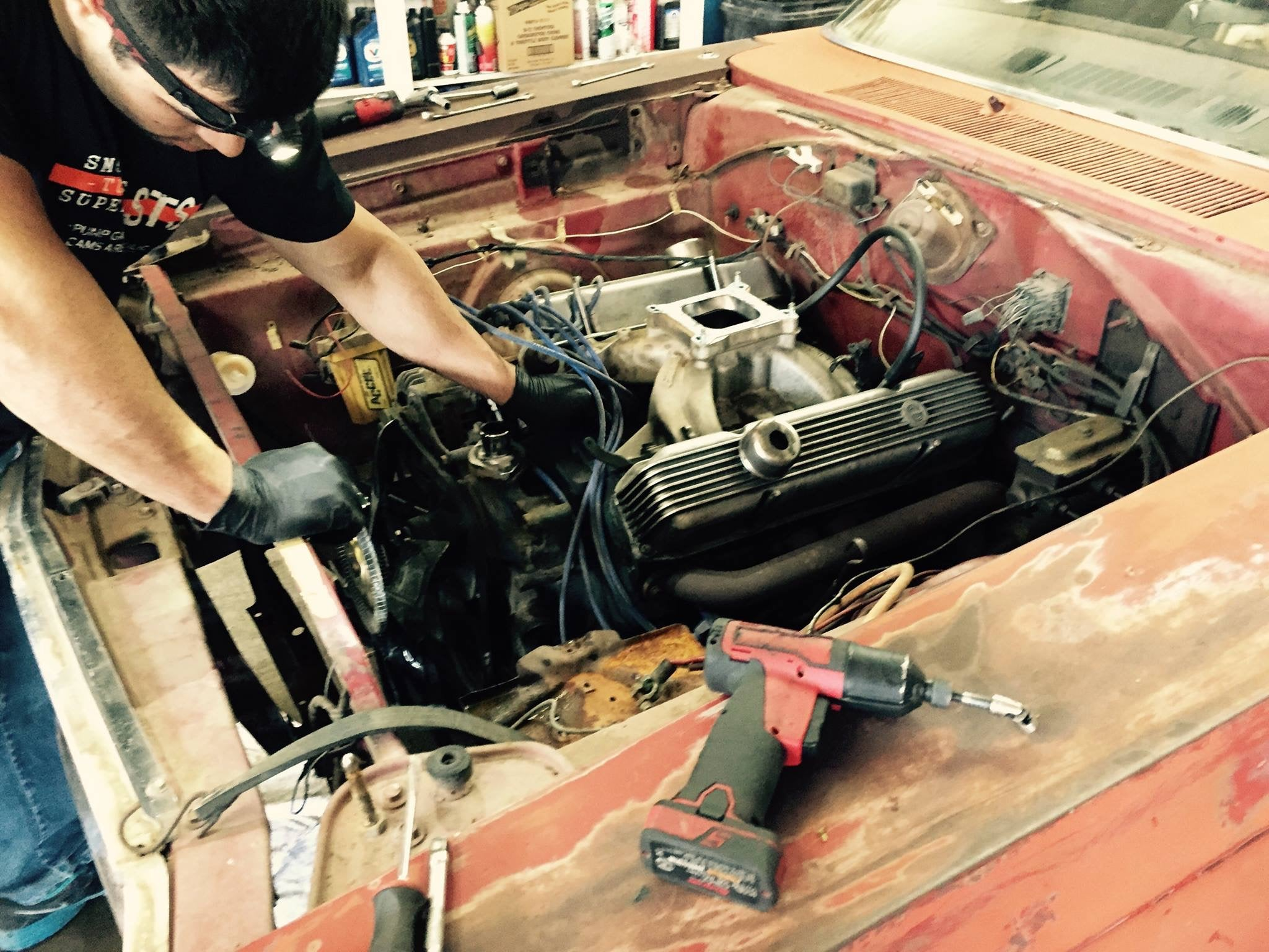Project Tetanus: Wrenching in the Early Days