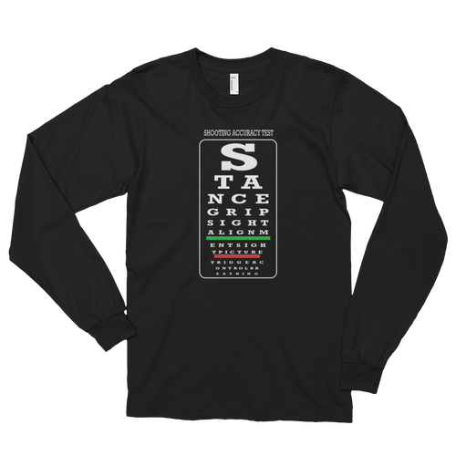 Shooting Accuracy Test Long Sleeve