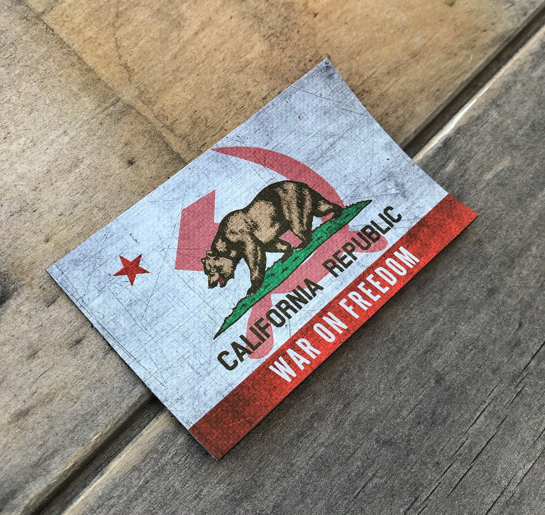 California War on Freedom - Morale Patch