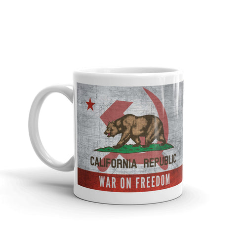 California War on Freedom Mug