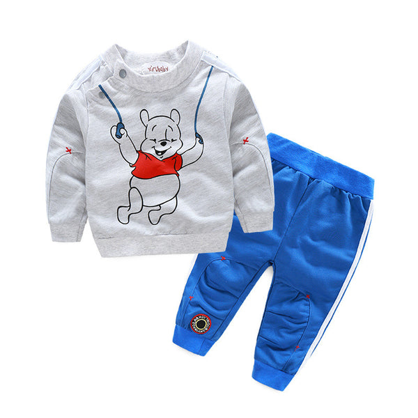 2016 autumn baby boy girl clothes cartoon