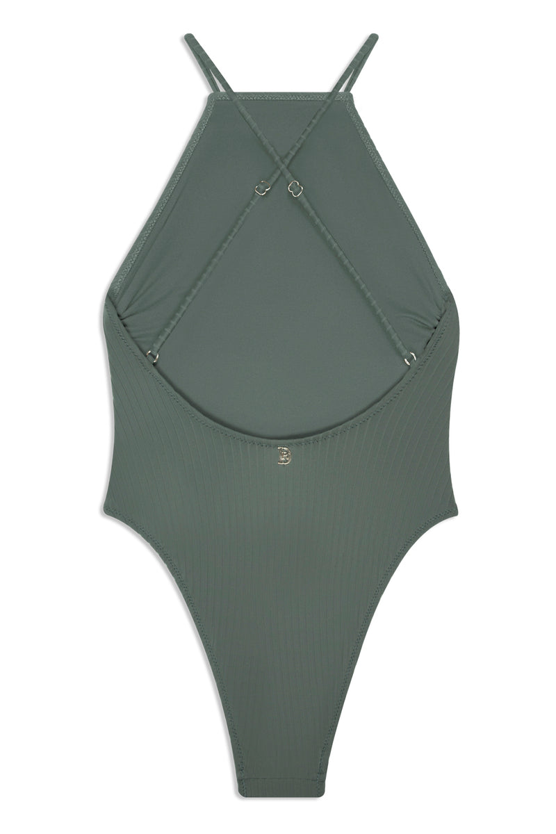 Textured Crocodile One Piece