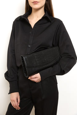 Clutch bag in Black