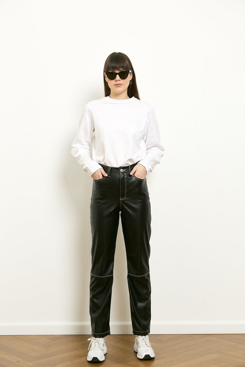 Déro long sleeves shirt in White