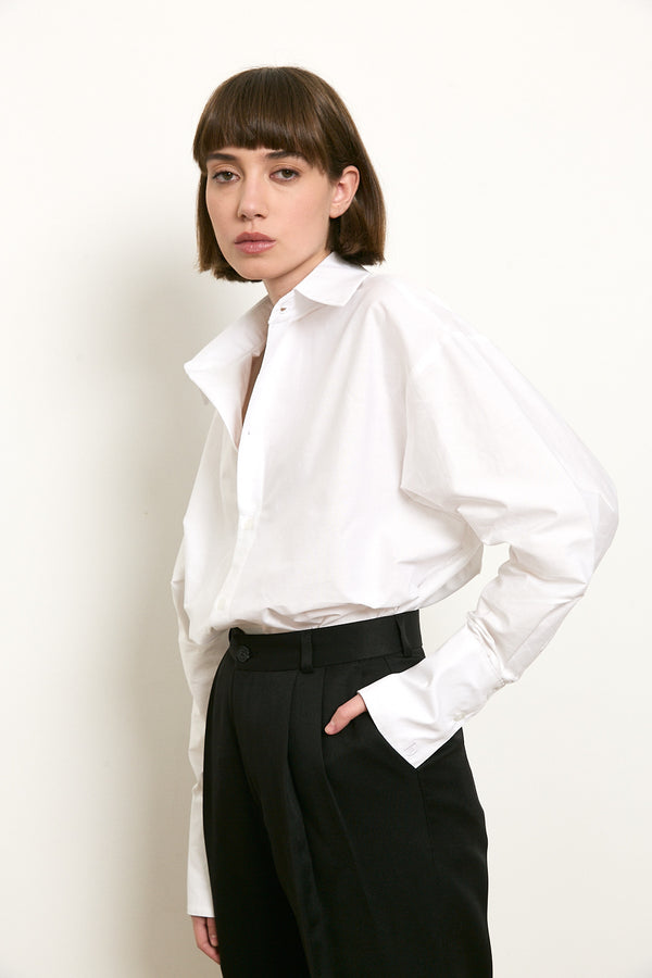 DÉ buttoned up shirt in White