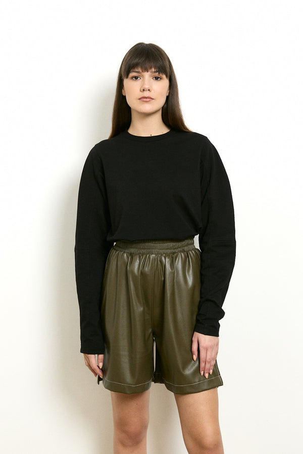 Déro long sleeves shirt in Black