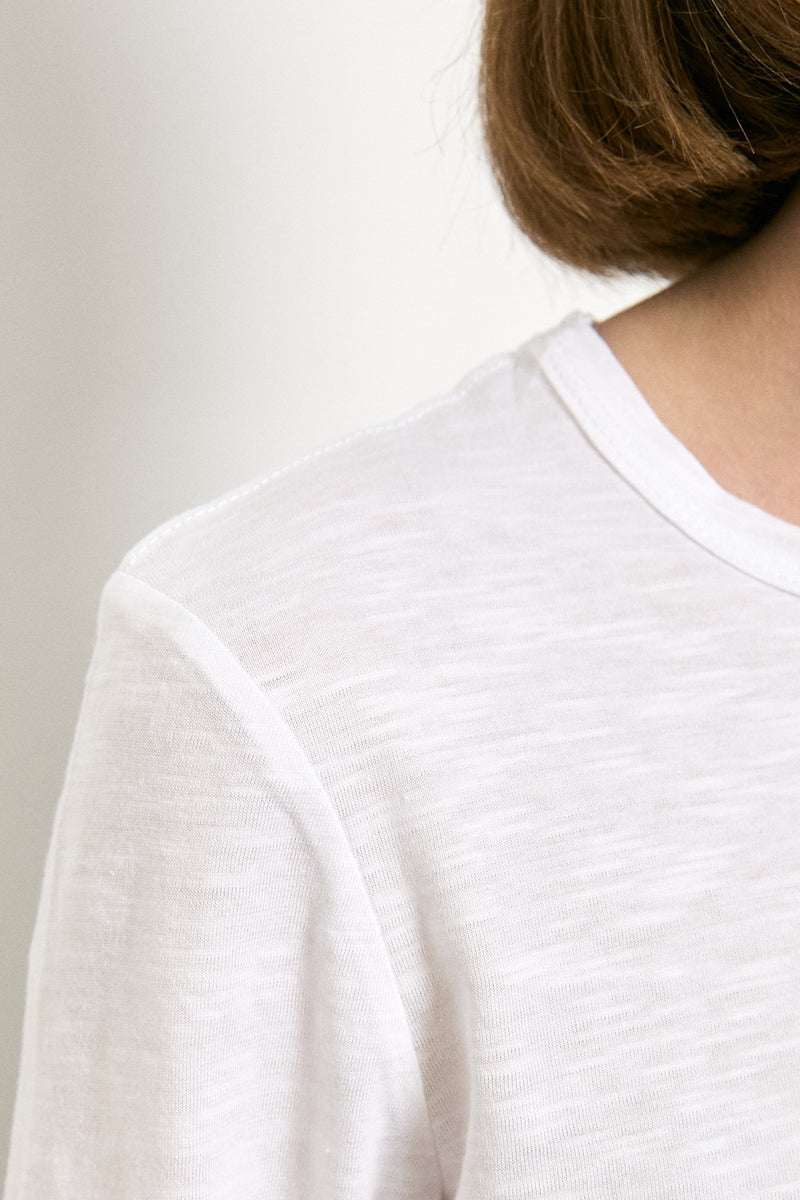Roco long sleeves shirt in White