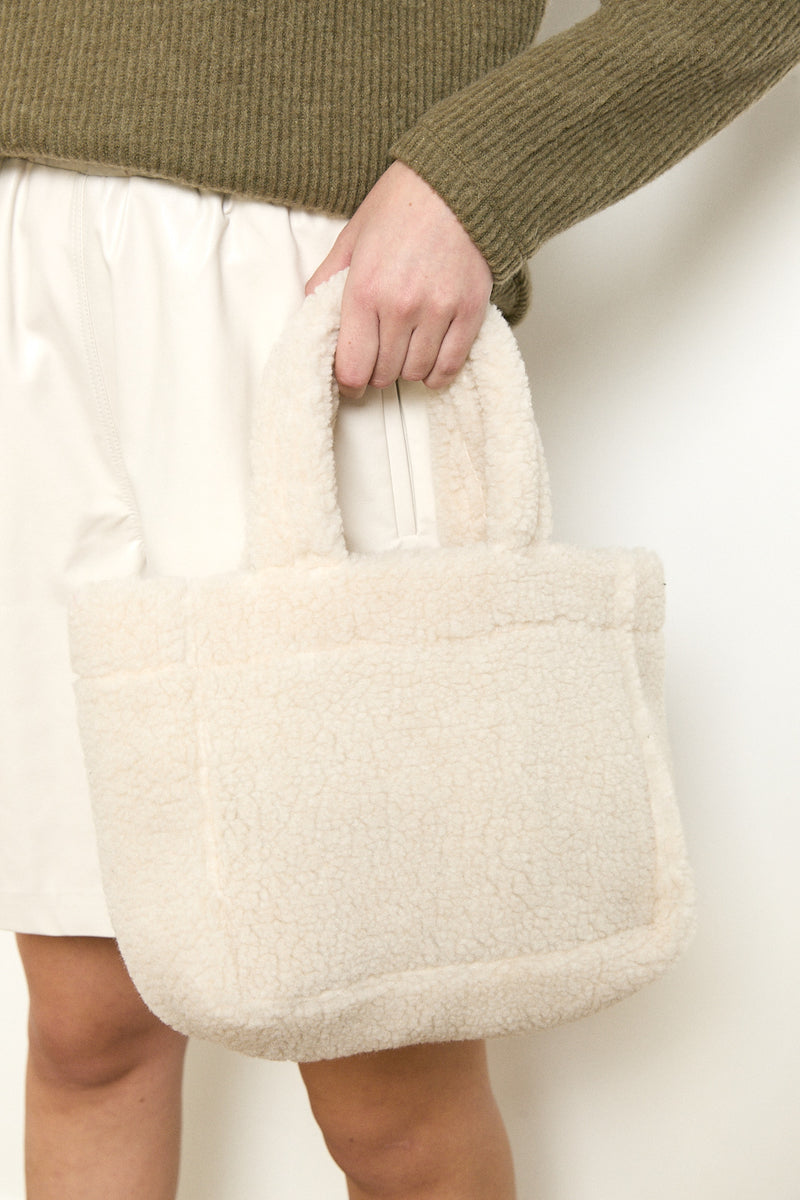 Dolly bag in White