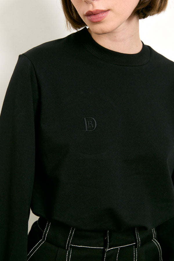 DR signature shirt in Black