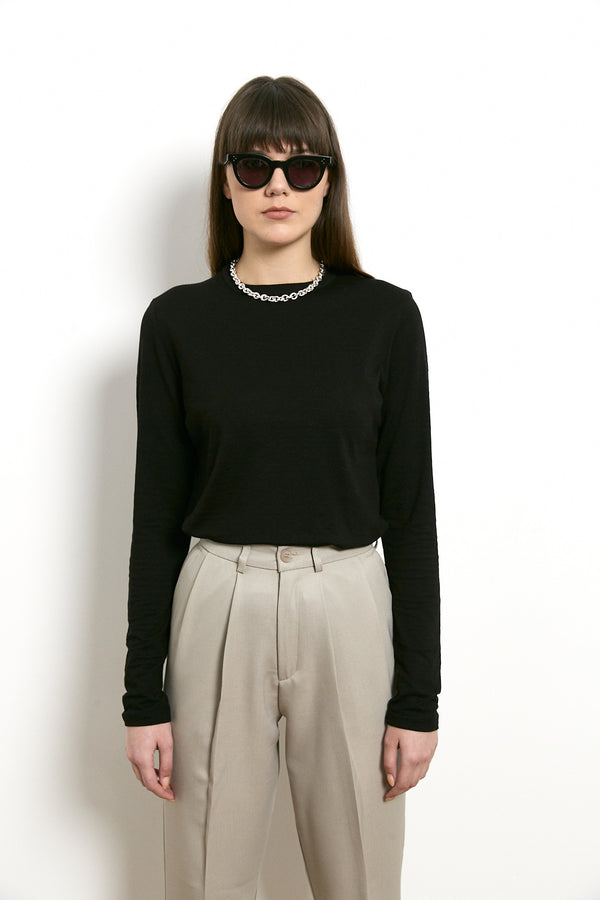 Roco long sleeves shirt in Black