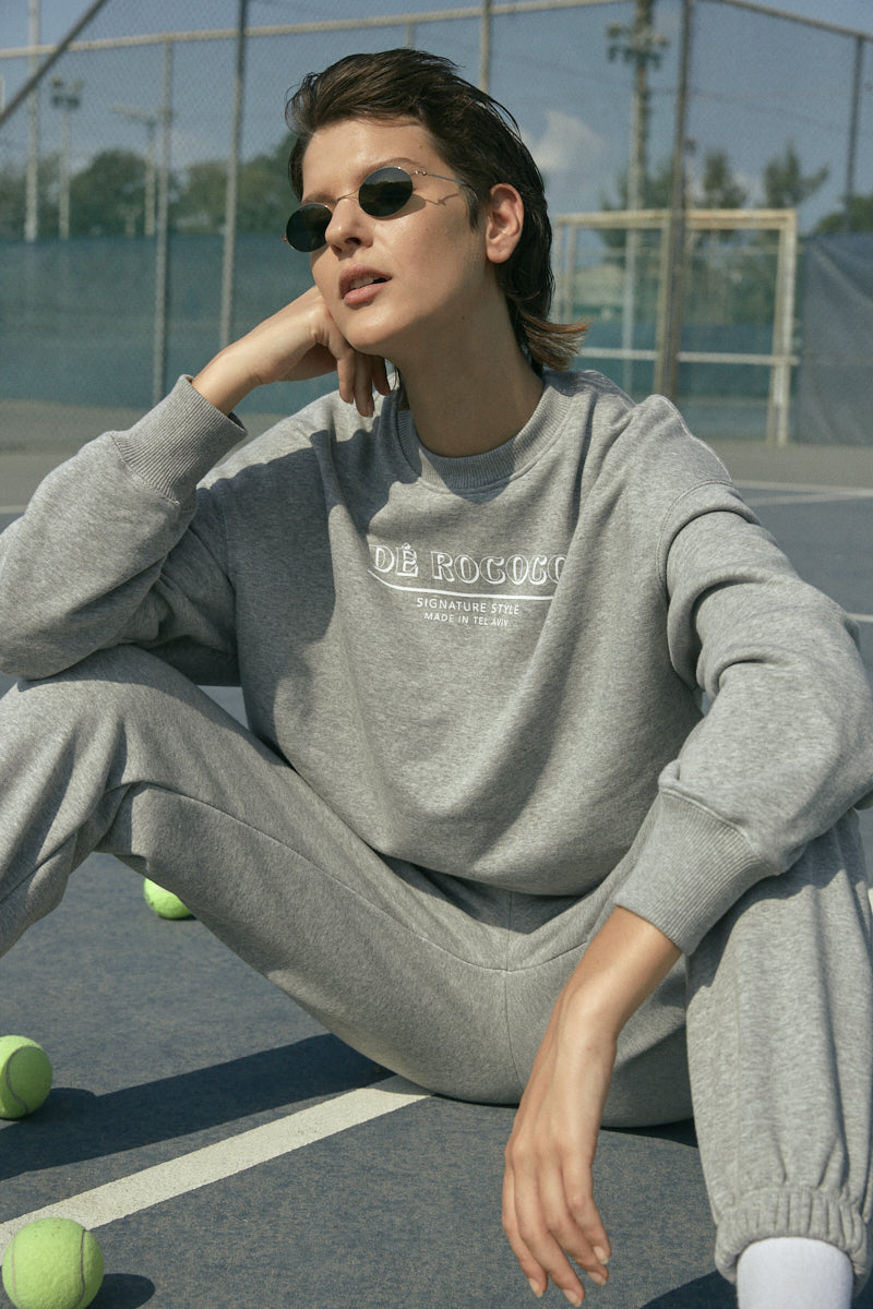 Signature sweatshirt in Grey