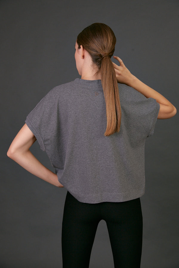 Déco dark grey T shirt