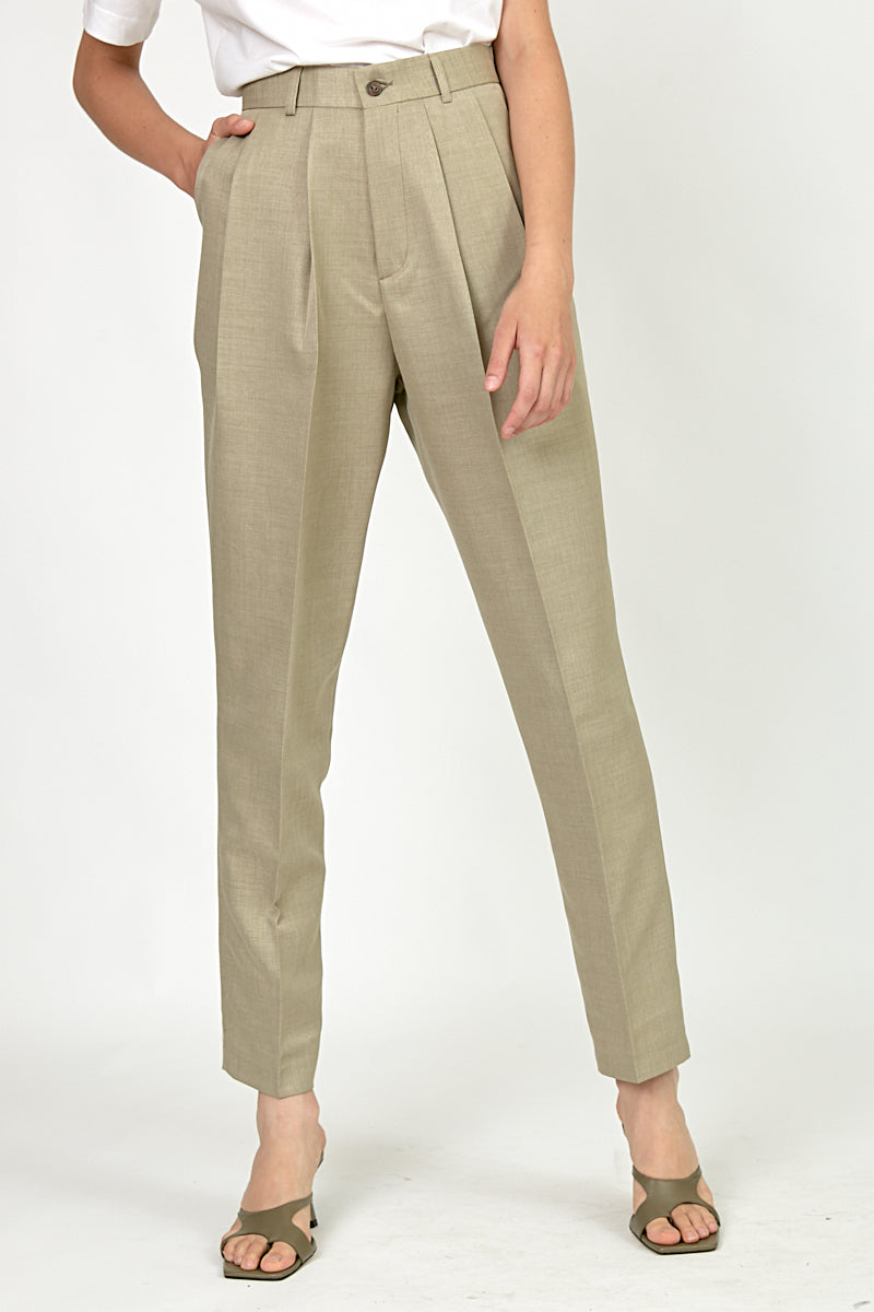 Daddy pants in Light Khaki