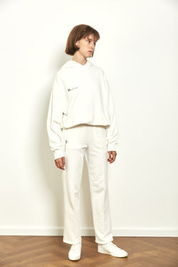 Tracksuit pants in Off white