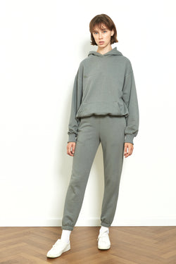 Jogger sweatpants in Sage