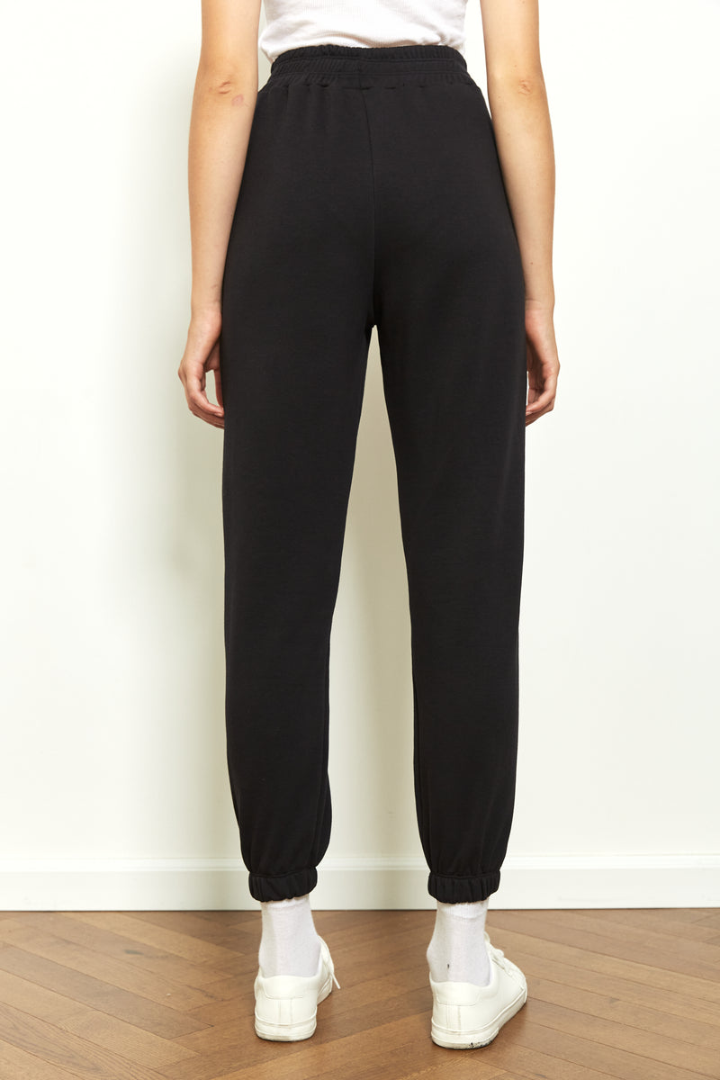 Jogger sweatpants in Black