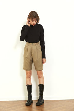 Daddy bermuda shorts in Khaki
