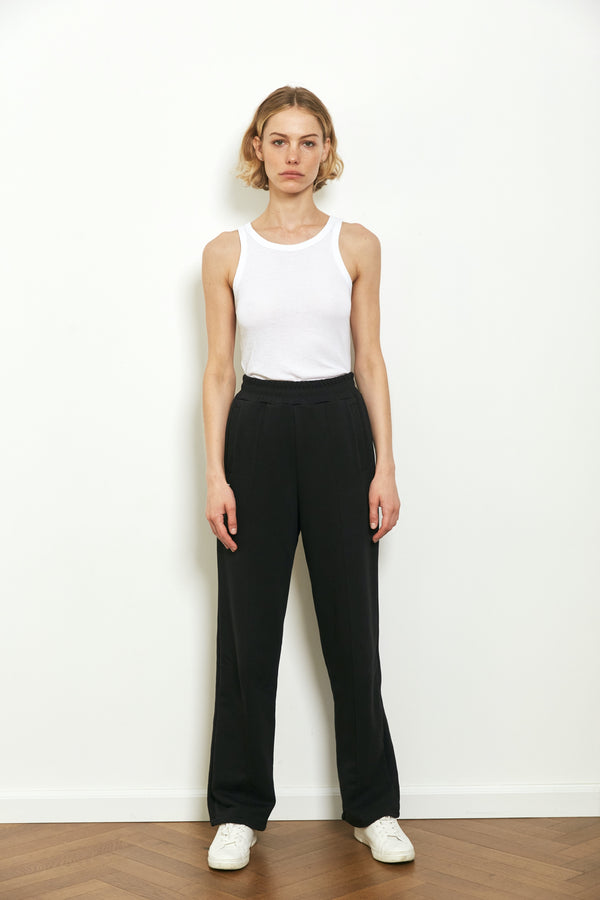Tracksuit pants in Black