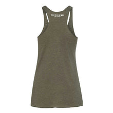 Come and Drink It Military Green Womens Tank