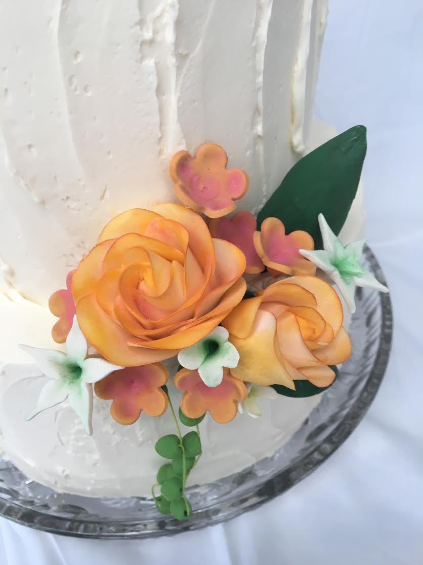Ruth Anne Ford Custom Wedding Cakes and Macarons Seattle