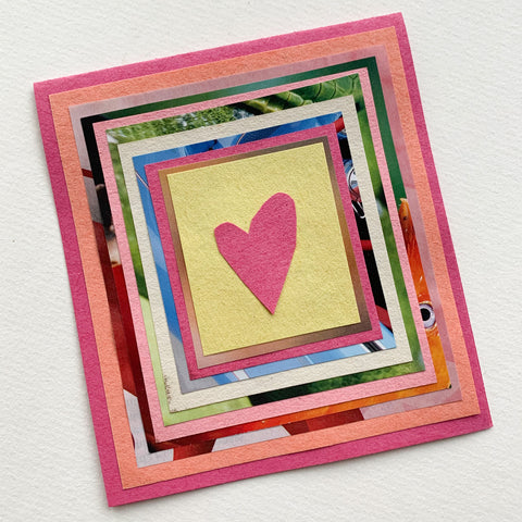 valentines card heart