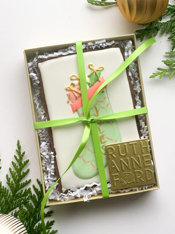 custom cookie stocking stuffer Seattle ship personalized
