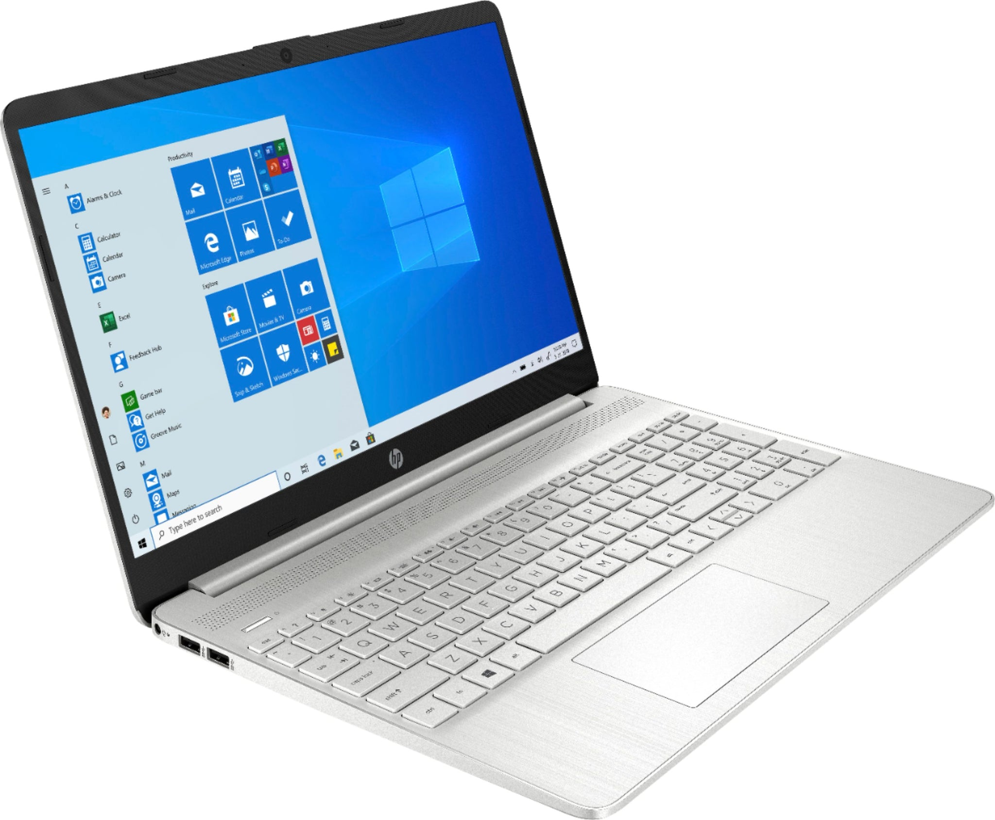 "B.NEW | HP 15-DY1043 | i5-1035G1 1GHz 256GB-12GB, 15.6"" TOUCHSCREEN, WIN10, NATURAL SILVER."
